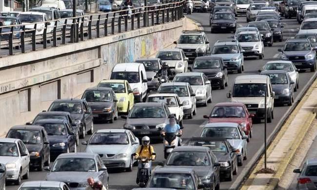 Κίνηση στους δρόμους της Αθήνας - Πού παρατηρούνται προβλήματα