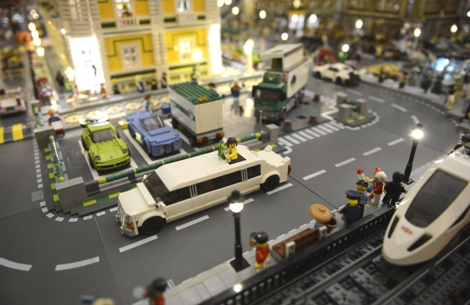 Μια πόλη φτιαγμένη με LEGO στη Μπολόνια