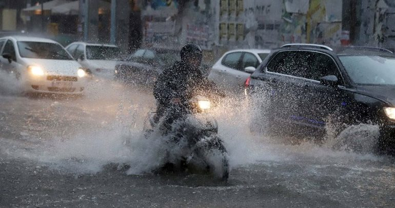 O «Ορέστης», ετοιμάζεται να σαρώσει τα πάντα: Βροχές και καταιγίδες