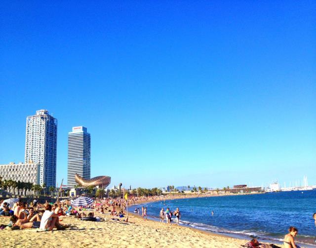 Παραλίες της Βαρκελώνης