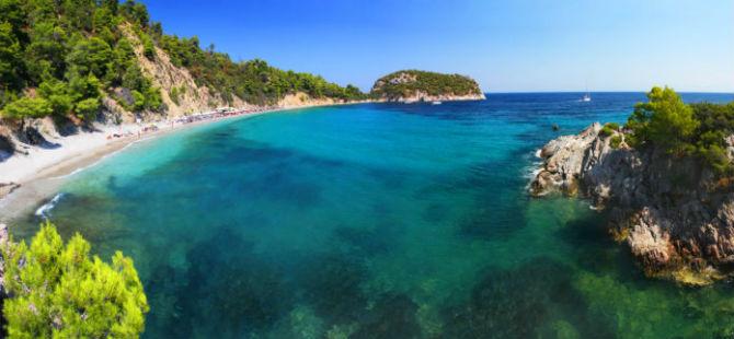 Σκόπελος Στάφυλος παραλία