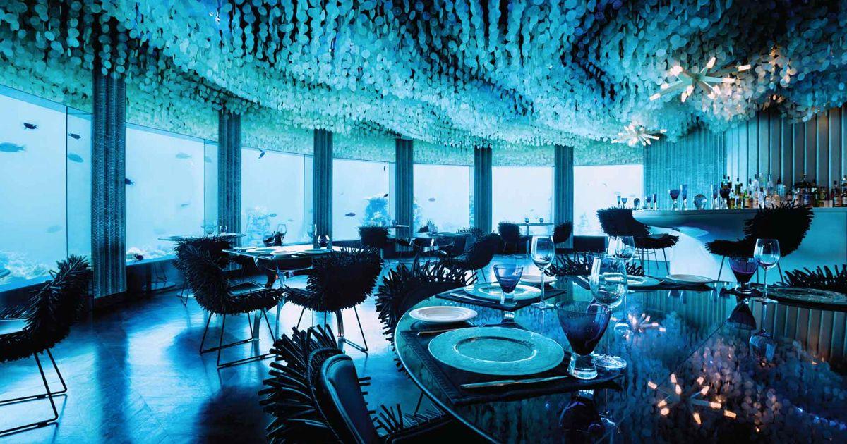 Το πρώτο υποβρύχιο εστιατόριο στον κόσμο είναι γεγονός! (Εντυπωσιακό VIDEO)
