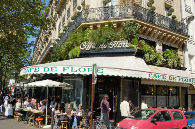 Cafe de Flore, Παρίσι