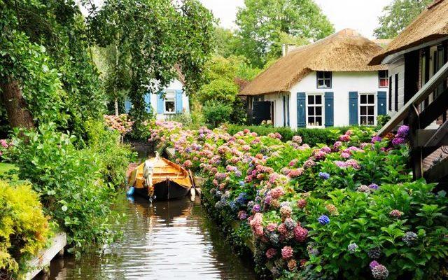 Giethoorn, Ολλανδία - πόλη χωρίς αυτοκίνητο