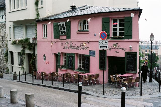 La Maison Rose, Μονμάρτη, Παρίσι