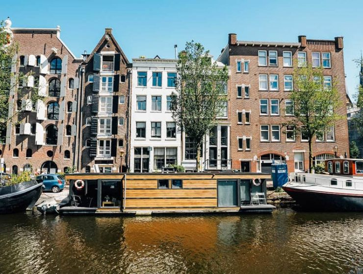 Αμστερνταμ: Προτιμήστε διαμονή εν πλω στη πόλη με τα πολλά κανάλια