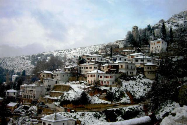 χιονοδροµικό κέντρο στο Περτούλι