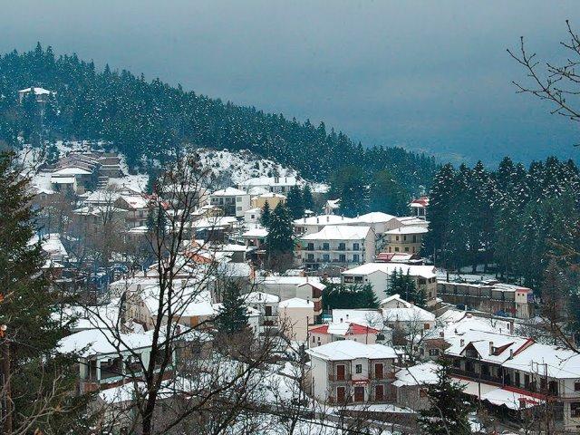 Ελάτη Περτούλι χωριό