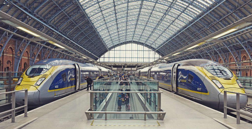 Άμστερνταμ Λονδίνο τρένο