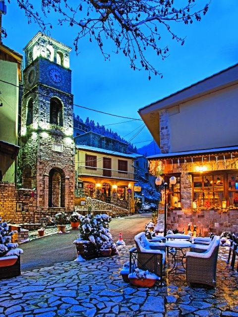 Οργανώστε τα πιο όμορφα Χριστούγεννα στην ονειρεμένη Ευρυτανία!