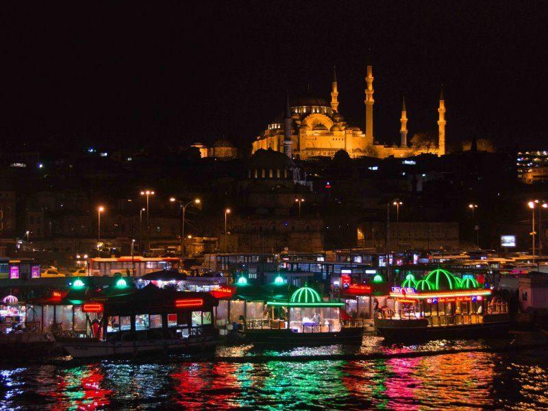 Διασκεδάστε μέχρι πρωίας στην Κωνσταντινούπολη