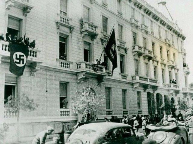 Μέγαρο Πεσμαζόγλου- Γερμανική Πρεσβεία, 1942