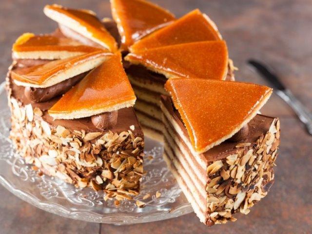 Dobos Torte, ουγγρικά φαγητά
