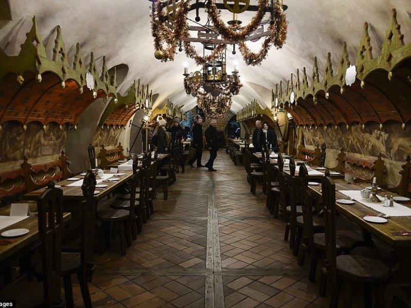 700 ετών το παλαιότερο εστιατόριο της Ευρώπης!