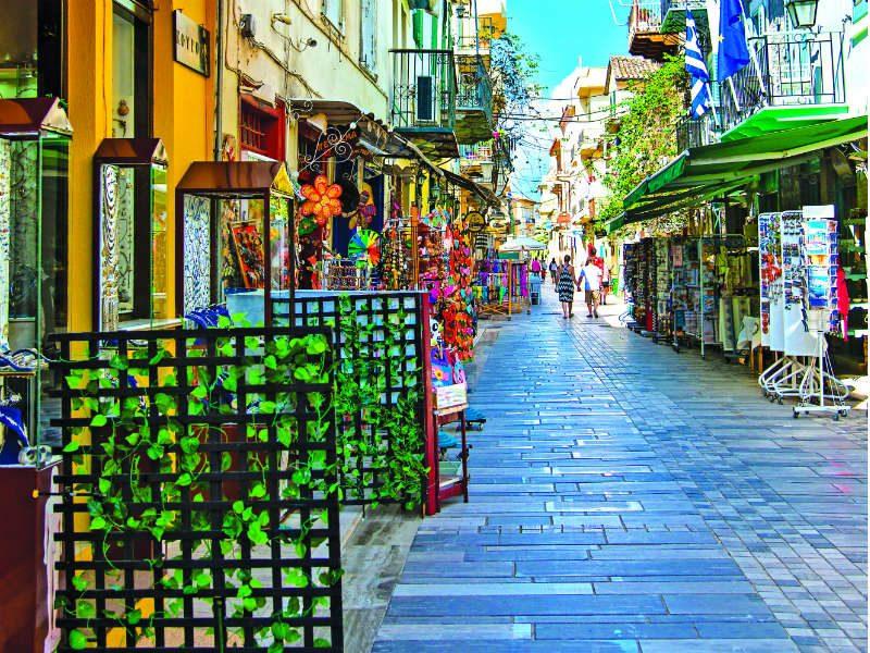 Shopping time! Βγαίνουμε για τα ψώνια μας στο Ναύπλιο...