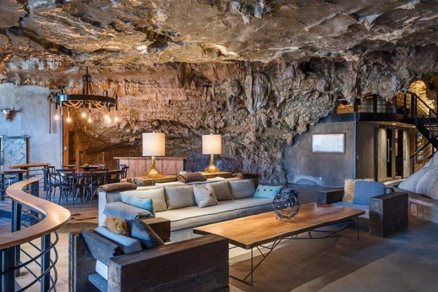 Δείτε το πολυτελέστατο σπίτι κτισμένο σε σπηλιά (photos)