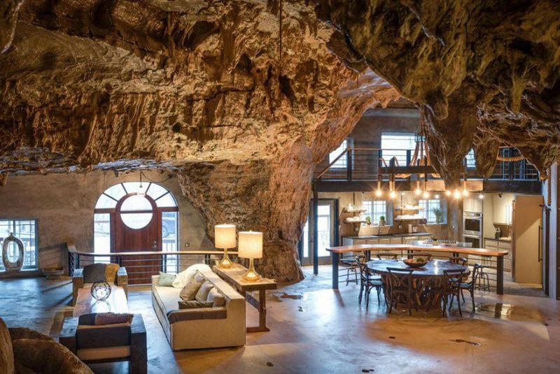Creek Cave Lodge πολυτελές ξενοδοχείο μέσα σε σπήλαιο