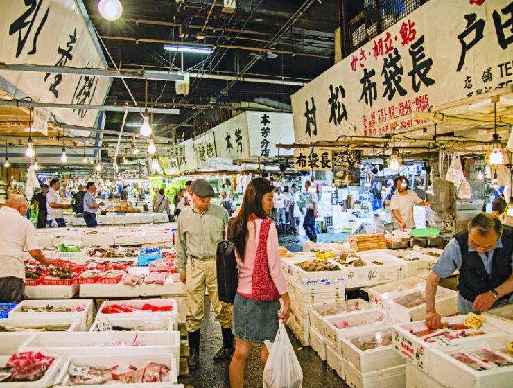 Τόκιο: Η παγκοσμίου φήμης αγορά Tsukiji σε νέα τοποθεσία