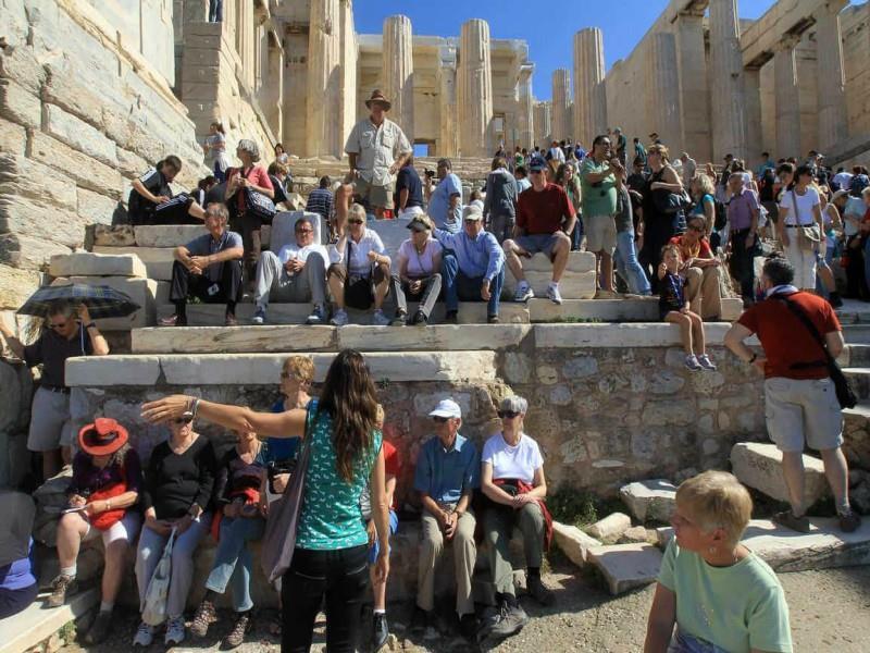 Η Ελλάδα 4ος δημοφιλέστερος προορισμός για Γάλλους τουρίστες