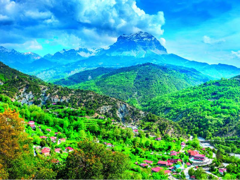 Βουνά, Τζουμέρκα