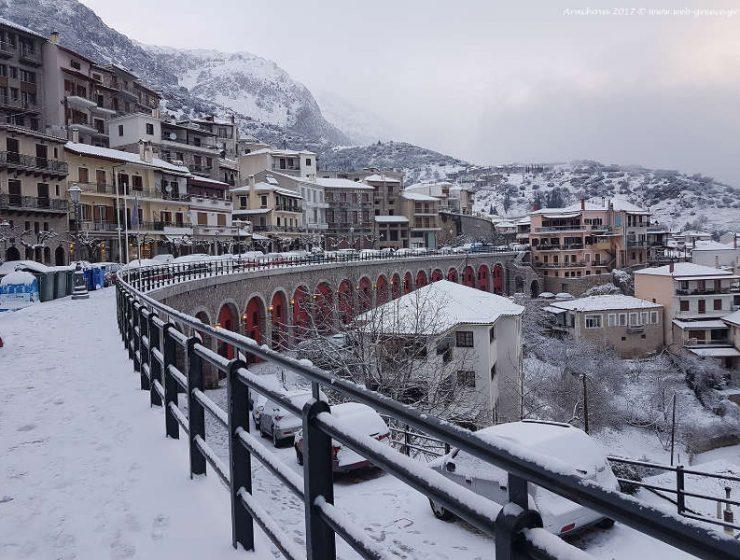 Οι 5 πιο κλασικοί χειμωνιάτικοι προορισμοί της Ελλάδας!