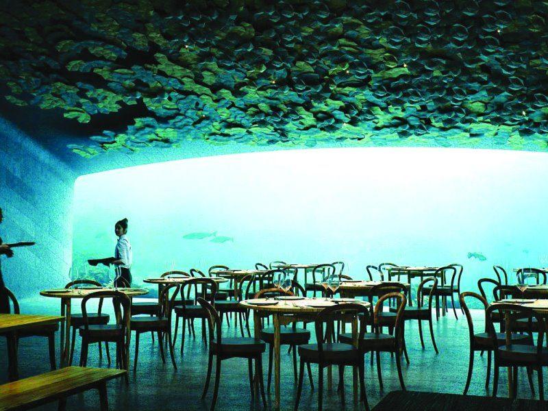 Καταδυθείτε... στο πρώτο υποθαλάσσιο εστιατόριο στην Ευρώπη!