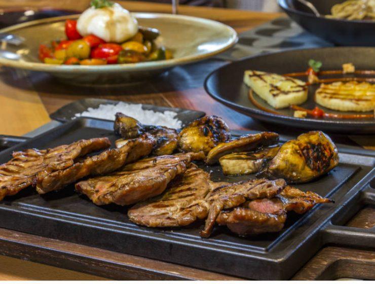 718 Uptown dine & wine Θεσσαλονίκη φαγητό
