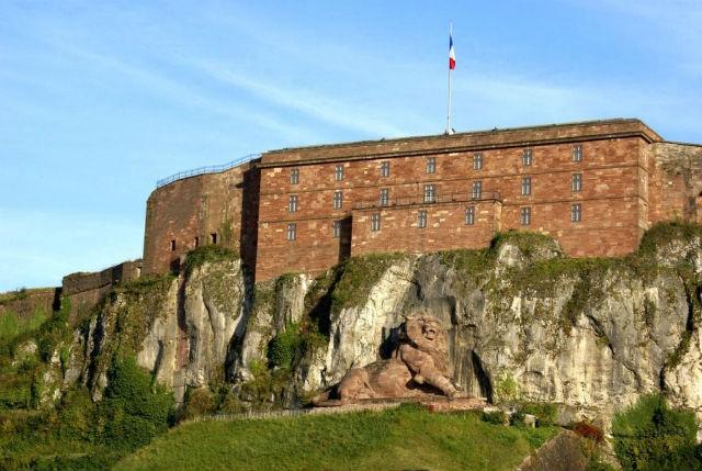 Belfort Citadel και το λιοντάρι του Μπελφόρ