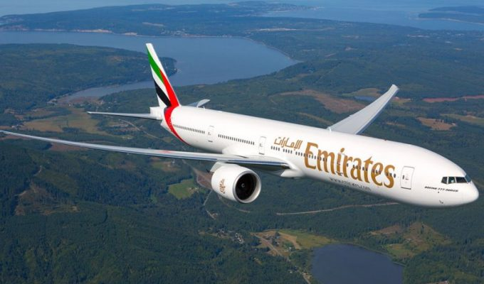 Emirates αεροσκάφος