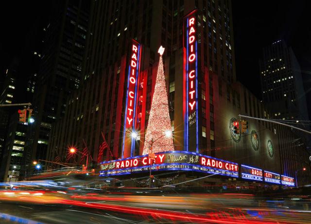 Radio City Music Hall, Νέα Υόρκη Χριστούγεννα