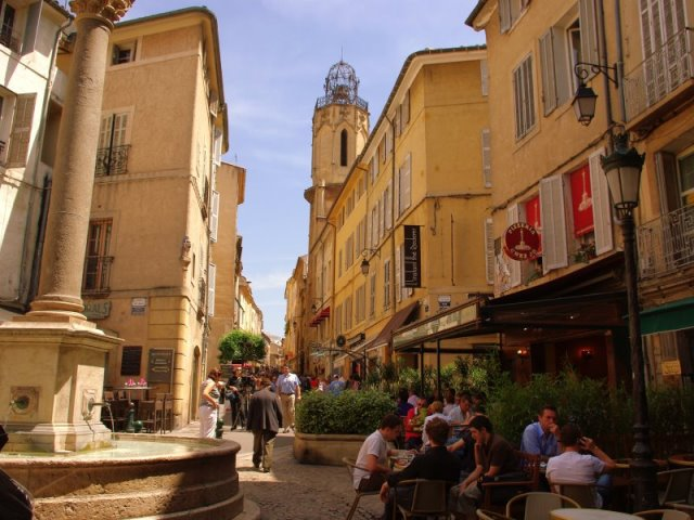 Aix en Provence: Ή σαν να ξυπνήσατε μέσα σε έναν πίνακα του Σεζάν!