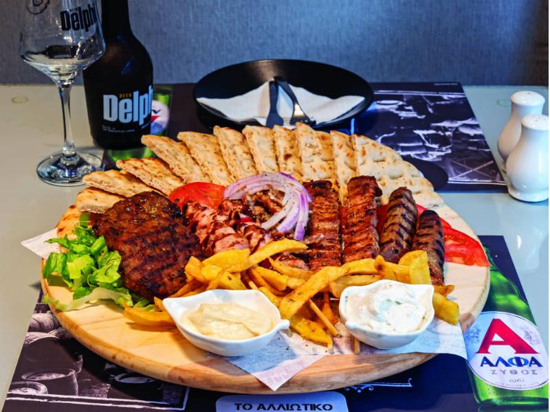 Ένα... Αλλιώτικο street food στους Δελφούς