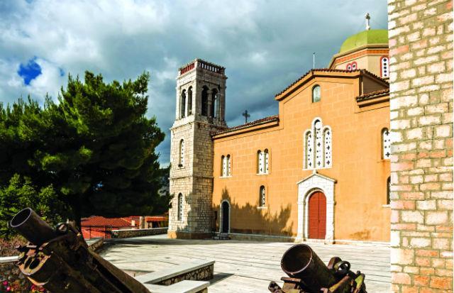 Ιερός Ναός Αγίου Γεωργίου, Αράχωβα