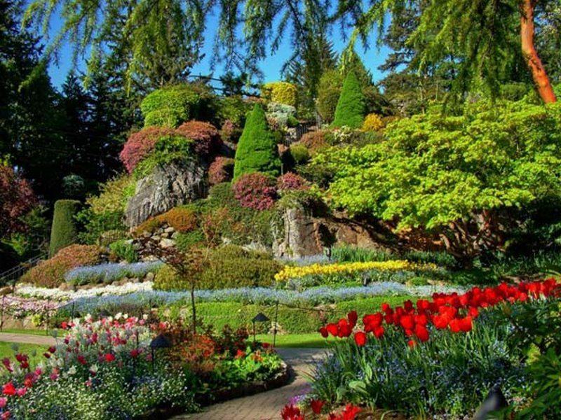 Η αυτοκρατορία των αισθήσεων... Χαθείτε σε αυτούς τους μοναδικής ομορφιάς κήπους!
