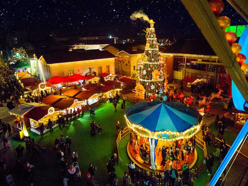Παραμυθένια Χριστούγεννα στο Γκάζι!