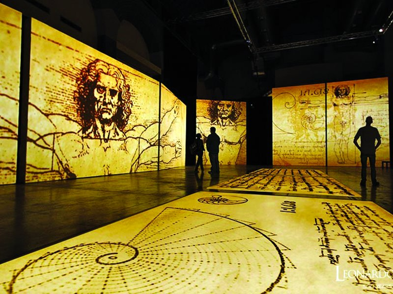 Παλιό Αμαξοστάσιο στο Γκάζι: Κάνετε ένα ταξίδι στον μοναδικό κόσμο του Leonardo Da Vinci