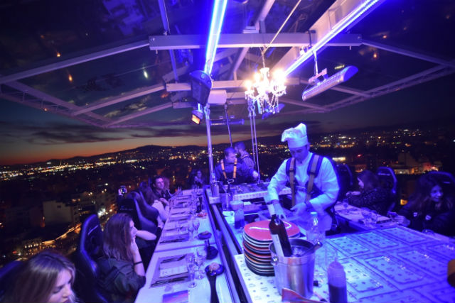 Dinner in the sky Αθήνα