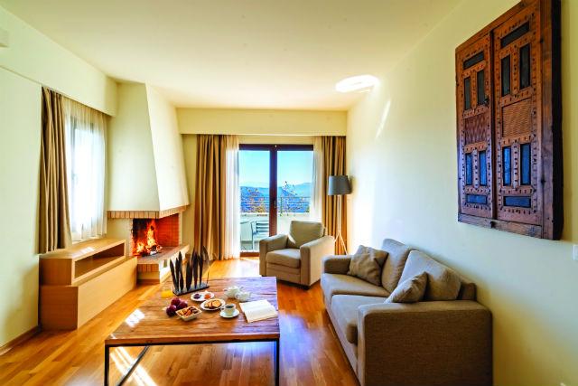 Domotel Anemolia Mountain Resort δωμάτιο