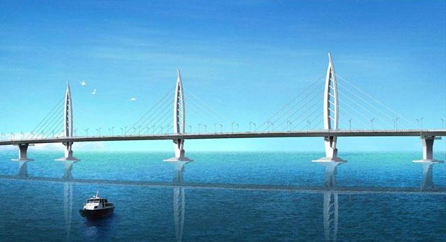 Η μεγαλύτερη γέφυρα του κόσμου συνδέει το Χονγκ Κονγκ με το Μακάου