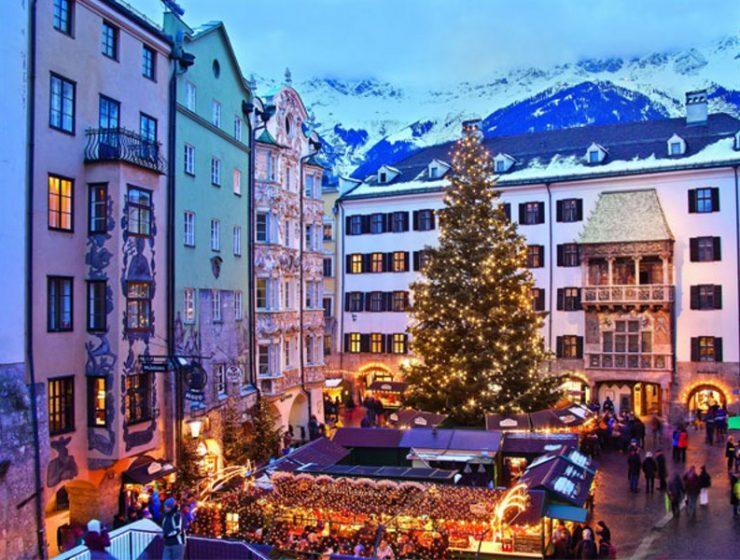 Ίνσμπρουκ: Αυτή είναι η πόλη της Αυστρίας που μοιάζει να ξεπήδηξε μέσα από παραμύθι! (photos)