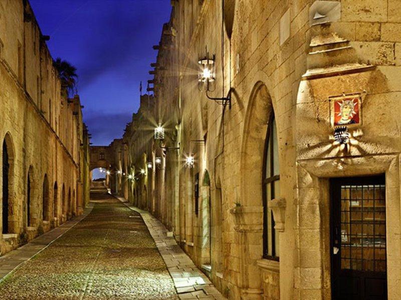 Ρόδος, μεσαιωνική πόλη