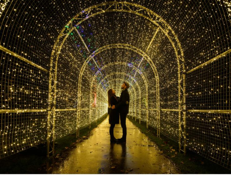 Kew Gardens: Δείτε τους μαγευτικούς εορταστικούς στολισμούς