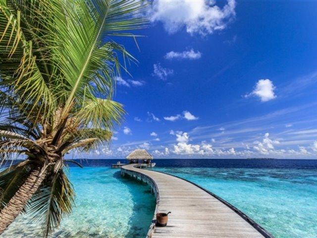 μαλδίβες ερημικό νησί