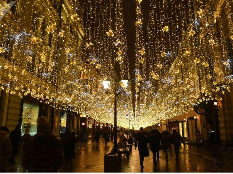Τα Χριστούγεννα στη Μόσχα μέσα από φωτογραφίες!