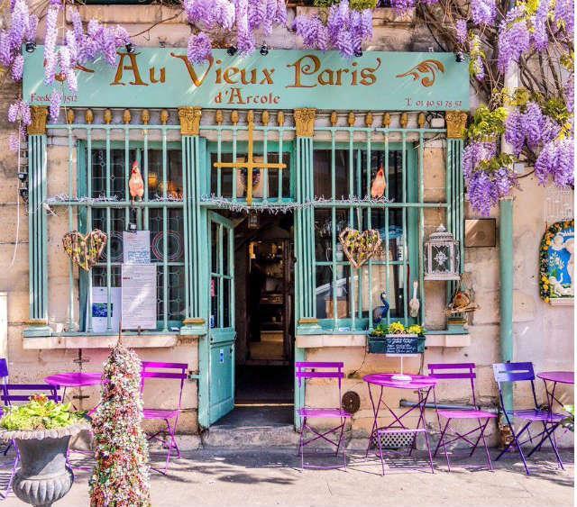 Au Vieux Paris, Παρίσι καφέ