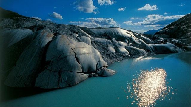 Rhone Glacier, Ελβετία