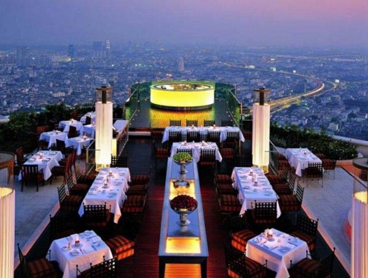 Αυτό είναι το ψηλότερο υπαίθριο εστιατόριο του κόσμου και βρίσκεται στην Μπανκόγκ!