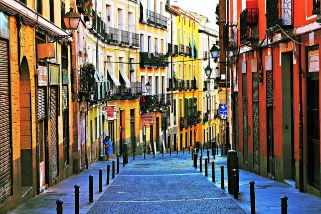 Στα σοκάκια της Μαδρίτης