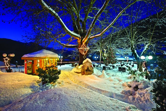 Μοναδικά Χριστούγεννα στην Ευρυτανία!