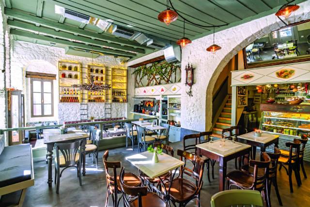 Στο Καφενείο του Ζάμπα, Αράχωβα
